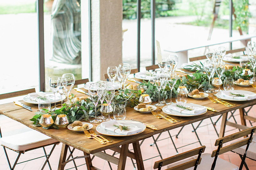 comment deco table mariage